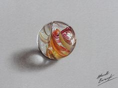 Marble ball by marcellobarenghi