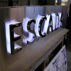 stainless steel backlit channel letters more information :www.szcosun.en.alibaba.com