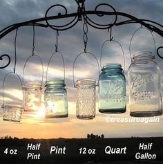 DIY Wedding Mason Jars Lanterns Hangers 6 DIY Outdoor Party