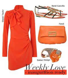 Weekly Love Outfit : Inauguration Ready Queensday 2013