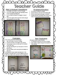 INTERACTIVE READING NOTEBOOK ! - TeachersPayTeachers.com