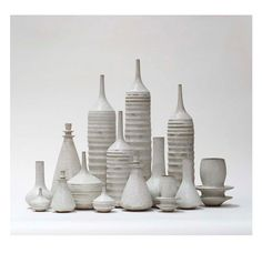 MADE TO ORDER Grand Collection of 15 Stoneware von sarapaloma
