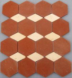 Tomettes terre cuite, tomette hexagonale : Céramiques du Beaujolais