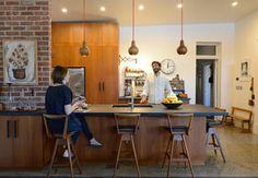Mid century modern family home