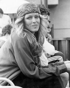 Farrah Fawcett in the 70's