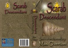 The Amarnan Kings Series Book 6: Scarab - Descendant by Max Overton (Historical: Ancient Egypt)