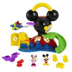 Advent Day 5 - Mickey Mouse Fly n Slide Clubhouse - In The Playroom
