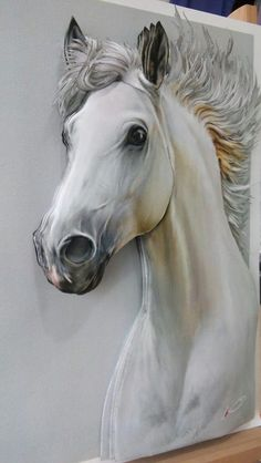 The Styles Of Pablo Picasso – Buy Abstract Art Right Horse Drawings, Animal Drawings, Art Drawings, Painted Horses, 3d Wall Art, Mural Art, Watercolor Horse, Horse Artwork, Equine Art