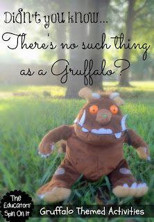 Have you discovered The Gruffalo? Do you have a Gruffalo fan at your house? We're sharing our Favorite Gruffalo Themed Activities with you! We were so thrilled that The Gruffalo reached out to us to Gruffalo Activities, Reading Activities, Teaching Reading, Activities For Kids, Activity Ideas, Teaching Ideas, Teaching Resources, Preschool Literacy, Literacy Activities
