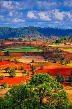 Shan, Myanmar, Burma. See more at http://glamshelf.com