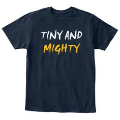 Discover Tinty And Mighty Kids T-Shirt from BLUE EYES Tee, a custom product made just for you by Teespring. - Tinty and mighty kids tee for all kids around. Custom T, Navy, Tees, Mens Tops, How To Wear, T Shirt, Fashion, Hale Navy, Supreme T Shirt