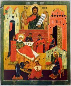Geboorte van Johannes de Doper; Rusland. North; XVII.