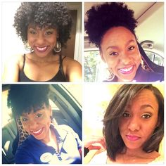 I love the versatility of natural hair!