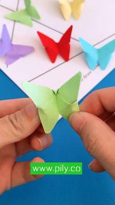Diy Crafts Hacks, Diy Crafts For Gifts, Diy Crafts Videos, Crafts To Do, Creative Crafts, Crafts For Kids, Easy Crafts, Cool Paper Crafts, Paper Flowers Craft