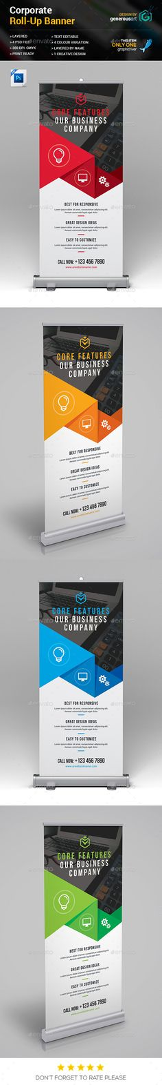 Corporate Banner | Banner template, Banners and Template