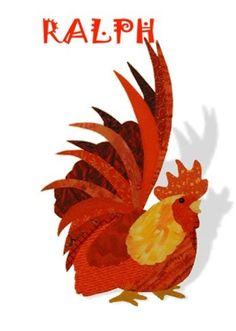 Rooster Applique Patterns | Radical Rooster Applique Quilt Pattern | Quilt - Applique Patterns