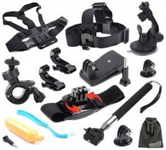 See the best GoPro accessories and mounts for your action camera.