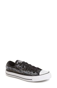 Converse Chuck Taylor® All Star® 'Sequin Flag' Low Top Sneaker (Women) available at #Nordstrom