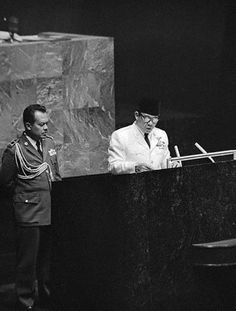 Sukarno's Speech to The United Nation