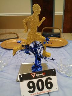 Centerpiece for Track & Field