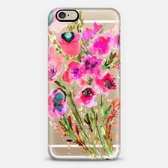 Pink boquet phone case + $10 off your first order when you use the code: QBADQW on our collaboration with @Casetify, we love the range of clear cases available for lots of different phone cases not just iphones! #iphonecase #clearcase #casetify #amysia