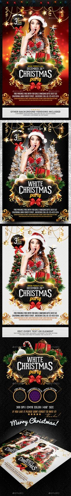 Christmas Flyer Template  Christmas Flyer Flyer Template And