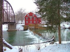 arkansas in the winter | War Eagle Mill Winter Time - Arkansas | Arkansas | Pinterest