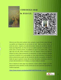 Banner del libro Cómo duele amar de Julia G.G.