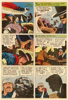 The ALEX TOTH archives: TOTH - FOUR COLOR COMICS 0976 Walt Disney's Zorro, March 1959