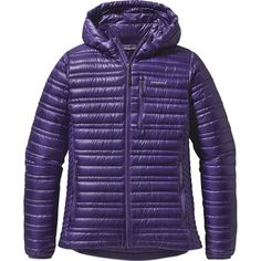 Patagonia Ultralight Down Hooded Jacket - Women's BLACK