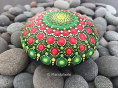 Image of Christmas in July 07 - Mandala Stone