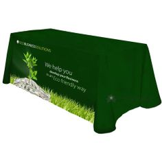 Recycled Polyester Table Cover - Front Panel Print $171 MSRP List Price: $228 You Save: $57 (25%)