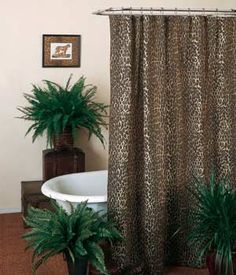 Cheshire Animal Print Shower Curtain And Bath Accessories By Avanti Great Idea For A Bathroom