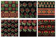 Ornaments - Latvian mittens