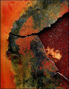 Texture - rust by Don Taylor Painting Inspiration, Color Inspiration, Art Texture, Inspiration Artistique, Rust Paint, Image Nature, Peeling Paint, Rusty Metal, Beautiful Textures