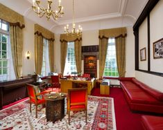 The Office of L. Ron Hubbard at the Saint Hill Manor in Sussex // Home of Scientology founder L. Ron Hubbard