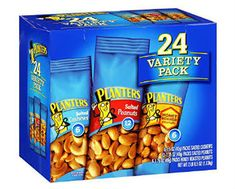 Planters Nuts Variety Pack Giveaway