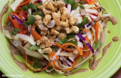 Raw Pad Thai from Naked Treaties