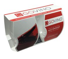 Govino DS Wine glasses are ergonomically designed with a patented thumb-notch for a secure grip and easy swirling. Reflects a wine's colour and aroma! Ds, Dishwasher, Reflection, Beverages, Wine, Colour, Crystals, Glasses, How To Make