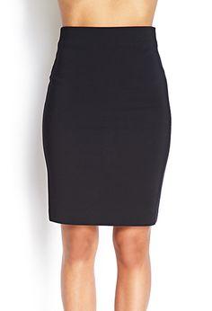 Classic Pencil Skirt | FOREVER 21 - 2000061972