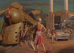'20th CENTURY LIMITED' by Peregrine Heathcote