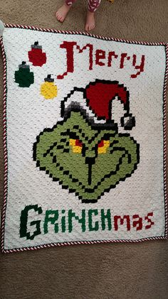 Ravelry: Merry Grinchmas Graphgan pattern by Aimee Hardy
