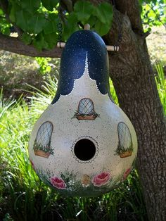 birdhouse pictures | Blackberry Hill Designs Gourd Patterns