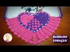 Resultado de imagem para bico de guardanapo de croche em formato de coração
