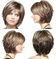 2019 Bayan Kısa Saç Kesim Modelleri 2019 Women Short Hair Cut Models – Beautiful Words Related Charming Curly Hairstyles For All Hair Lengths Layered Short Haircuts to Rock the Popular Pixie And Bob Short Hair Styles for Summer Bob Hairstyles For Fine Hair, Short Hairstyles For Women, Hairstyles Haircuts, Short Haircuts, School Hairstyles, Graduation Hairstyles, Haircut Short, Layered Haircuts, Wedding Hairstyles
