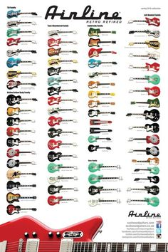The complete Airline Guitars product family Spring 2013. interactive and downloadable. get your copy