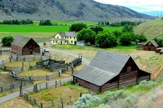 Founded in 1863, for years Gang Ranch, in British Columbias famous Chilcotin area, was the largest ranch in North America. It is still active and a tourist attraction.