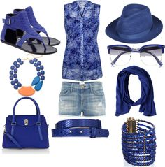"""Jean shorts outfit"" by esperanzandrea on Polyvore"