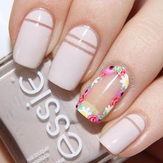 For those who want a subtle nail makeover, try neutral colors - See more at: http://www.quinceanera.com/make-up/negative-space-nail-designs-to-try-asap/#sthash.cW8aQRGl.dpuf