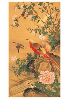 Oki Ichiga, Flowers, 1810-1855